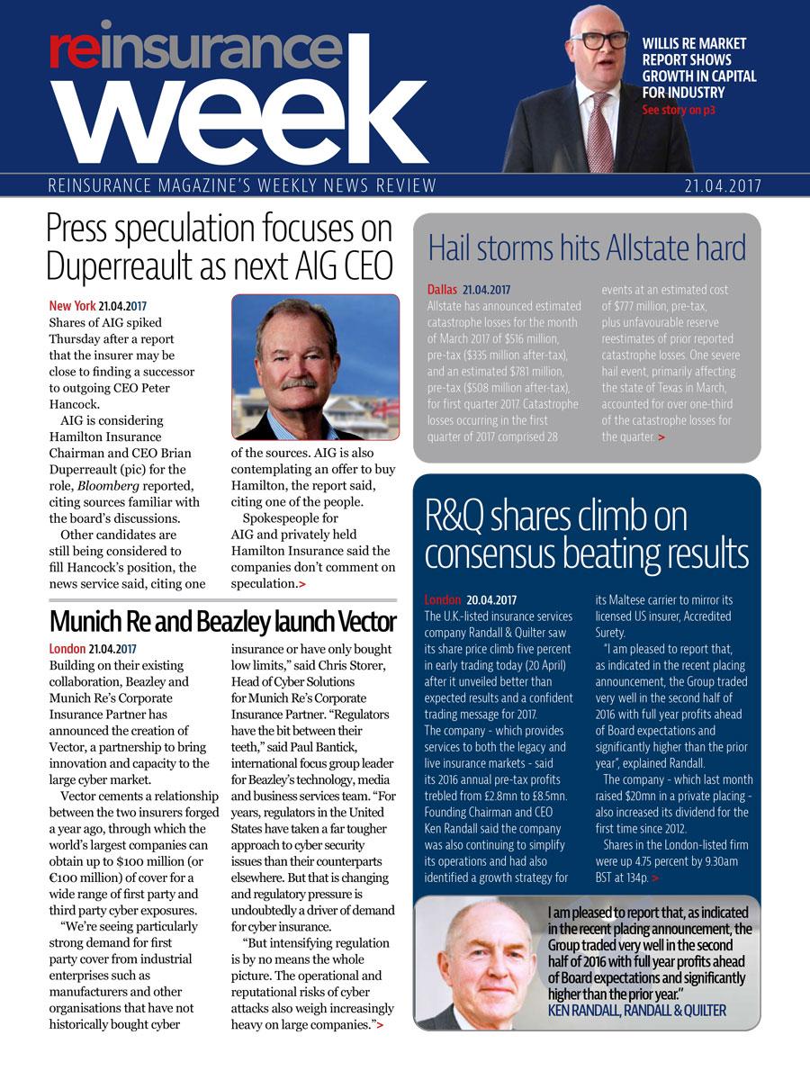 ReWeek 21 April 2017