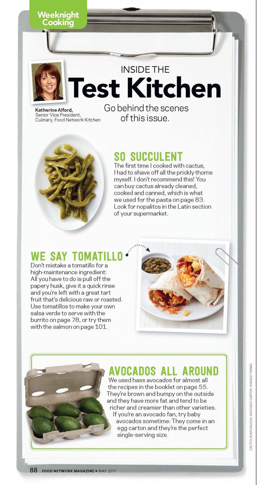 Copyright © 2017 Food Network Magazine