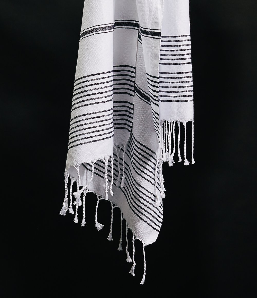The Essential Scarf True Black No. 33 White--$56.jpg