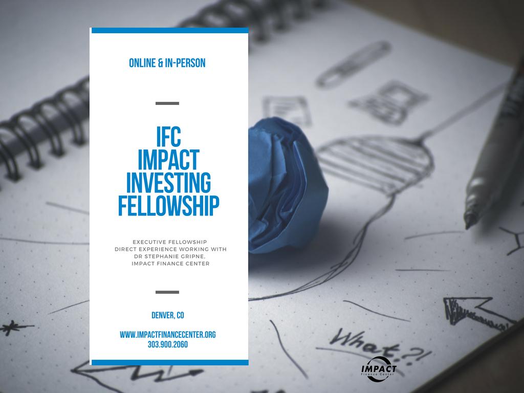 IFC Impact Investing Fellowship — Impact Finance Center