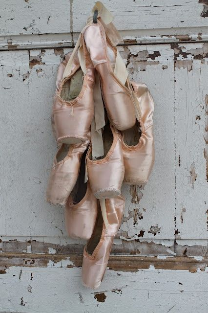 Photo courtesy of Pinterest Pointe Shoes
