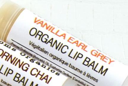 Org Van Earl Grey Lip Balm