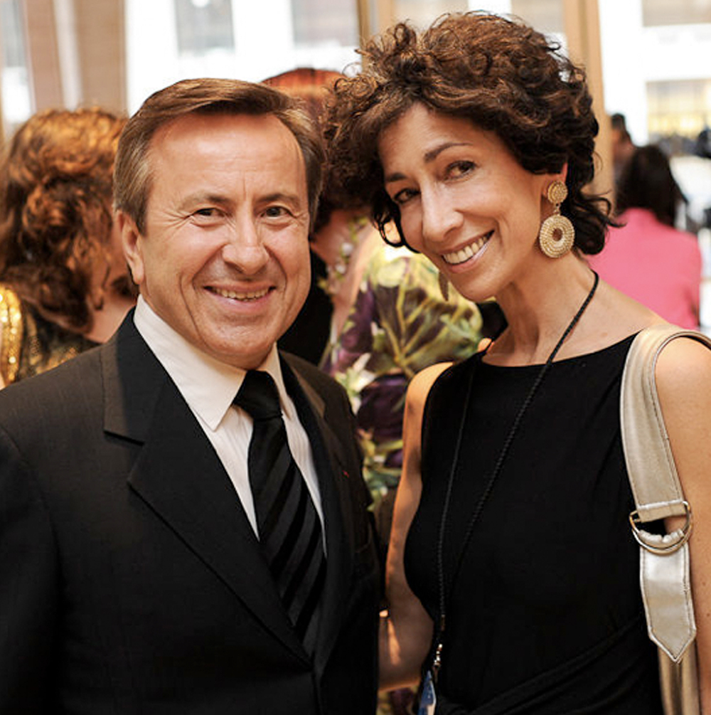 Rozanne and Daniel Boulud at the 2012 James Beard Awards.