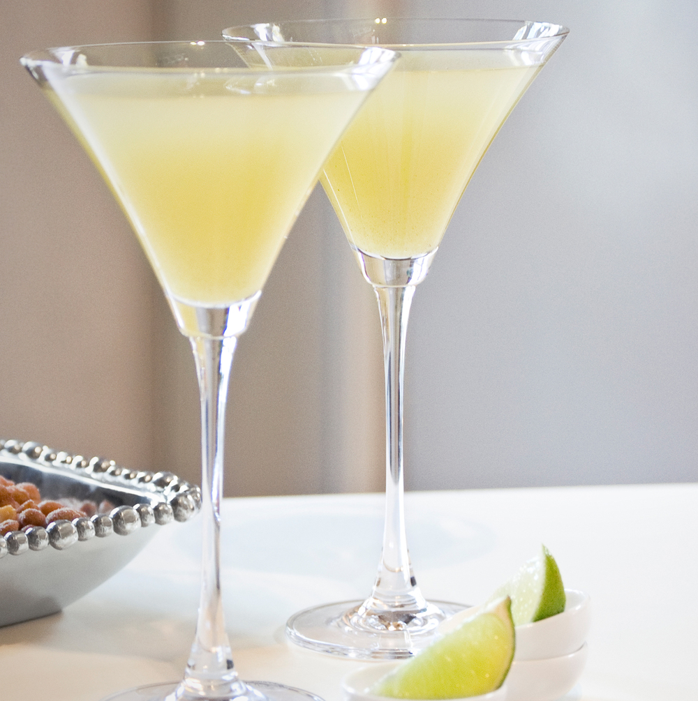 Apple-Ginger-Pear Martinis