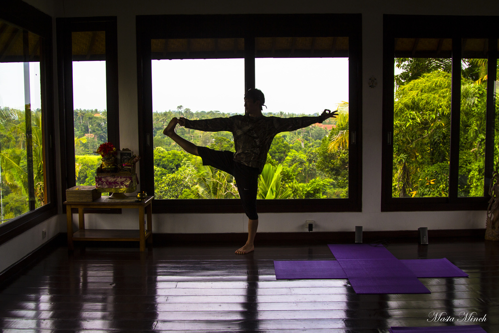 Intuitive Flow Yoga studio in Ubud
