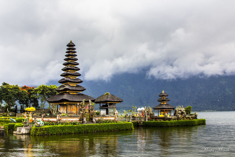Ulun Danu Temple also known as the Water Temple