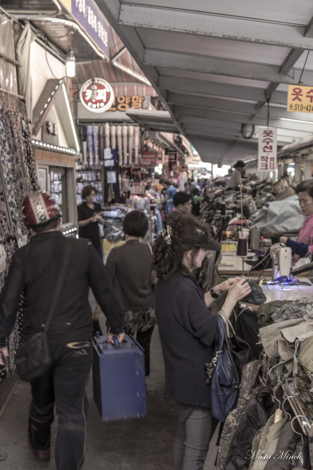 Namdaemun Market is just filled with people and a bunch of crazy stuff.