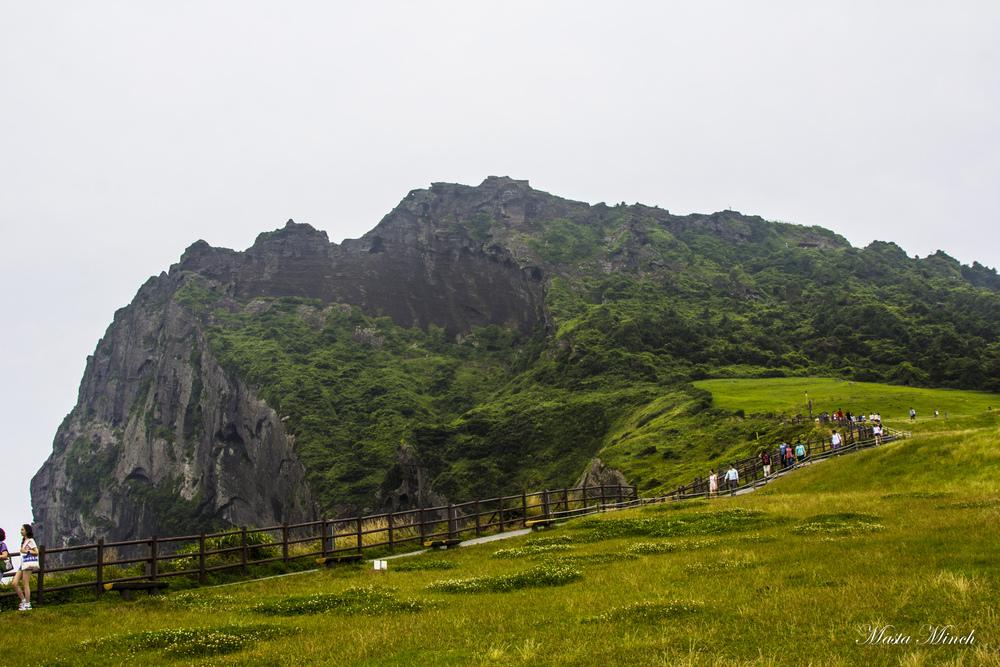 "Seongsan Ilchulbong ""Sunrise Peak""  성산 일출봉"