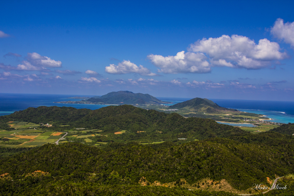 From the top of Mt. Nosoko Maapee in Ishigaki