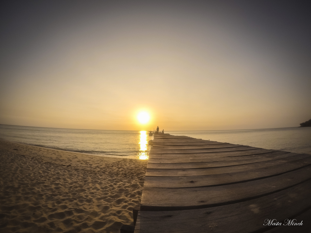 The incredible sunsets of Koh Rong Samloem