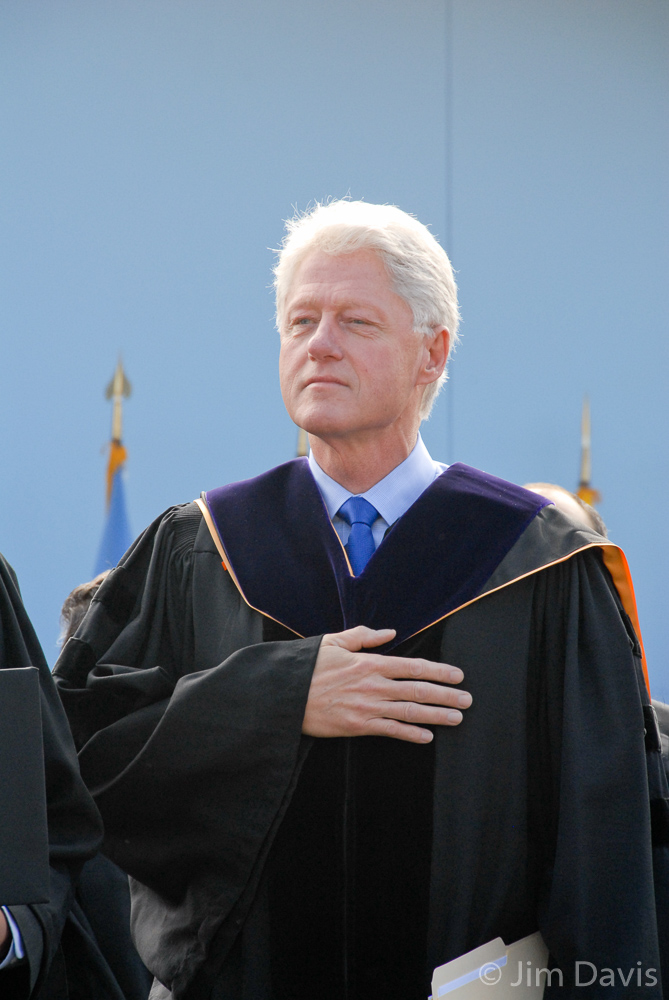 President Bill Clinton, University of Michigan, Ann Arbor, Michigan, 1999