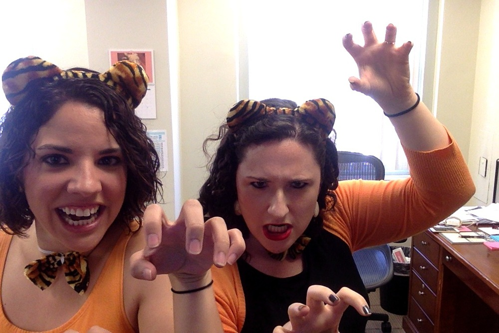 Celebrated National Tiger Day at work today :)  Click the pic for more information!
