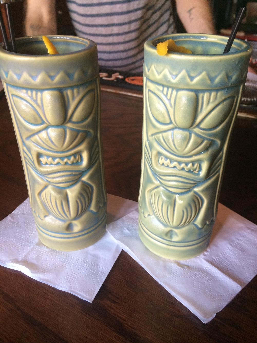 Tiki Drinks at Highland Kitchen
