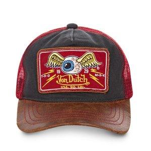 Von Dutch Flying Eye RED Casquette-Trucker-Homme-Von-Dutch-Flying-Eye-Bordeaux  ( e465823d83e