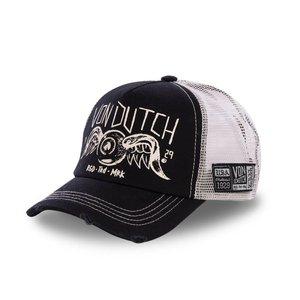 5f05b072f3777 Von Dutch Crew Trucker BLK CAP ...
