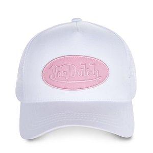 Von Dutch Trucker Pure White Pink dcd06b56ffc9