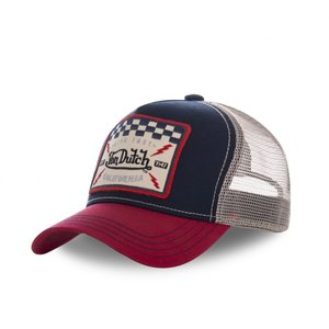 495e87fe Von Dutch Trucker Checkered Flag ...