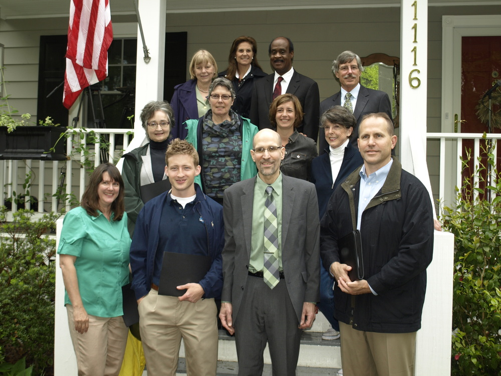 Inaugural group of green landscaping companies with County government leaders and the local community.
