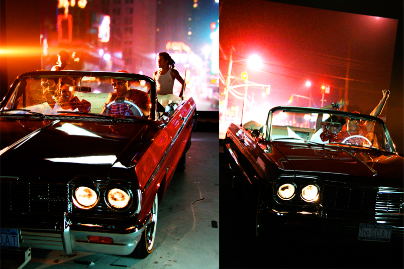 LL Cool J music video shoot.