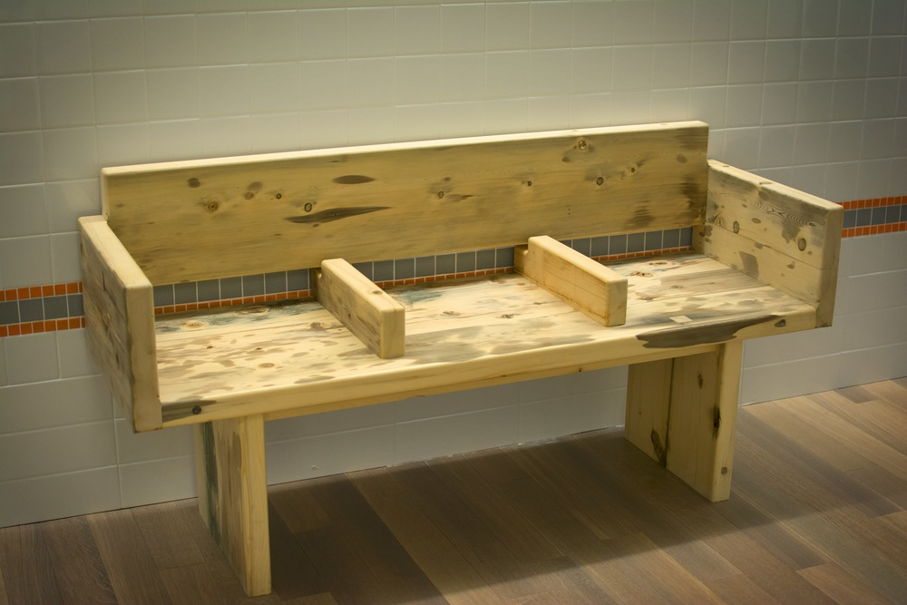CRITEO SUBWAY BENCH