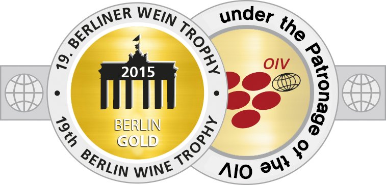Medal BerlinWeinTrophy 2015 Gold.png