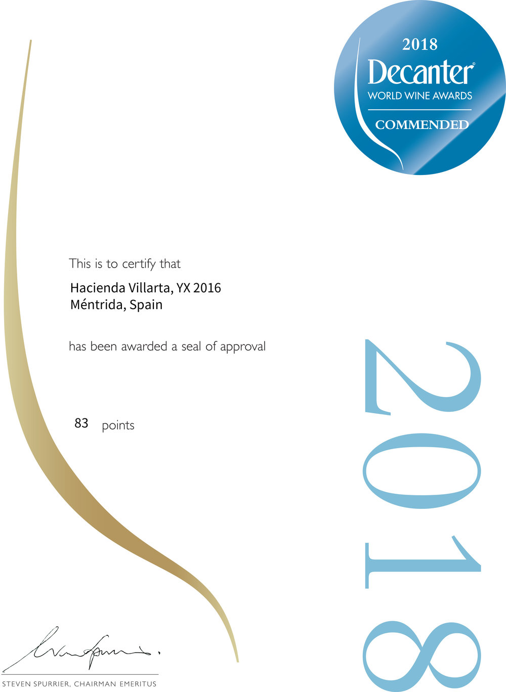 Certificate_COMMENDED YX 2016_DWWA2018.jpg