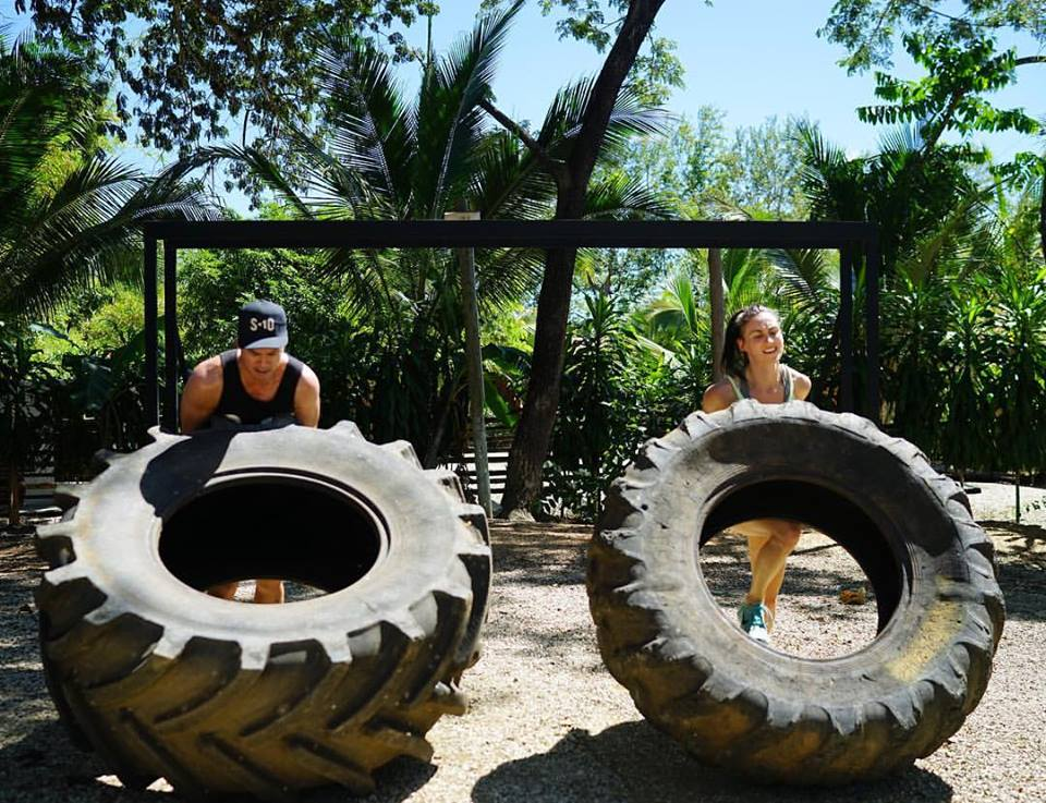 Believe it or not - flipping tractor tires is super  empowering and kinda addicting!