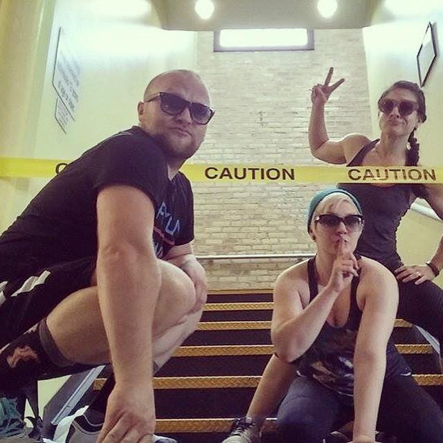Trainer buddies @ Cheetah Gym!