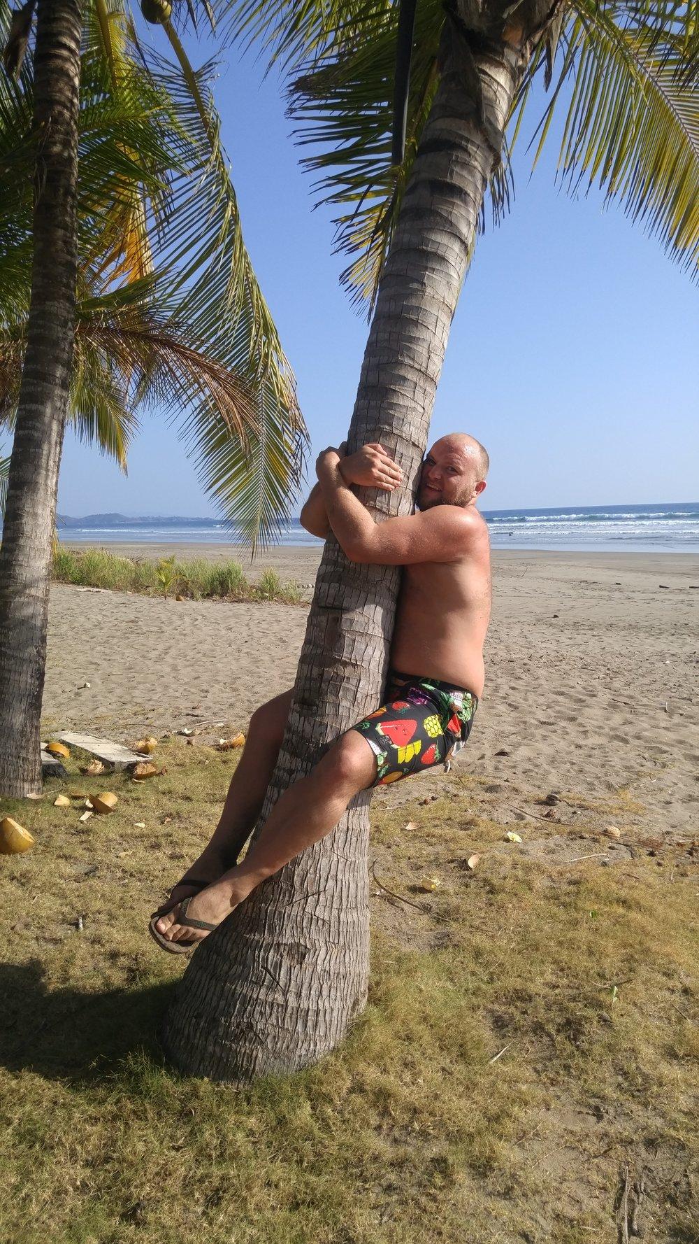 """Climbing"" a tree in Costa Rica!"