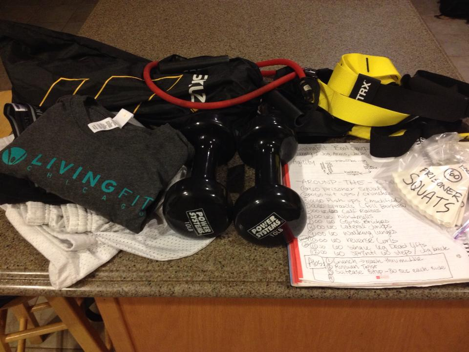 LivingFit Chicago prize package!