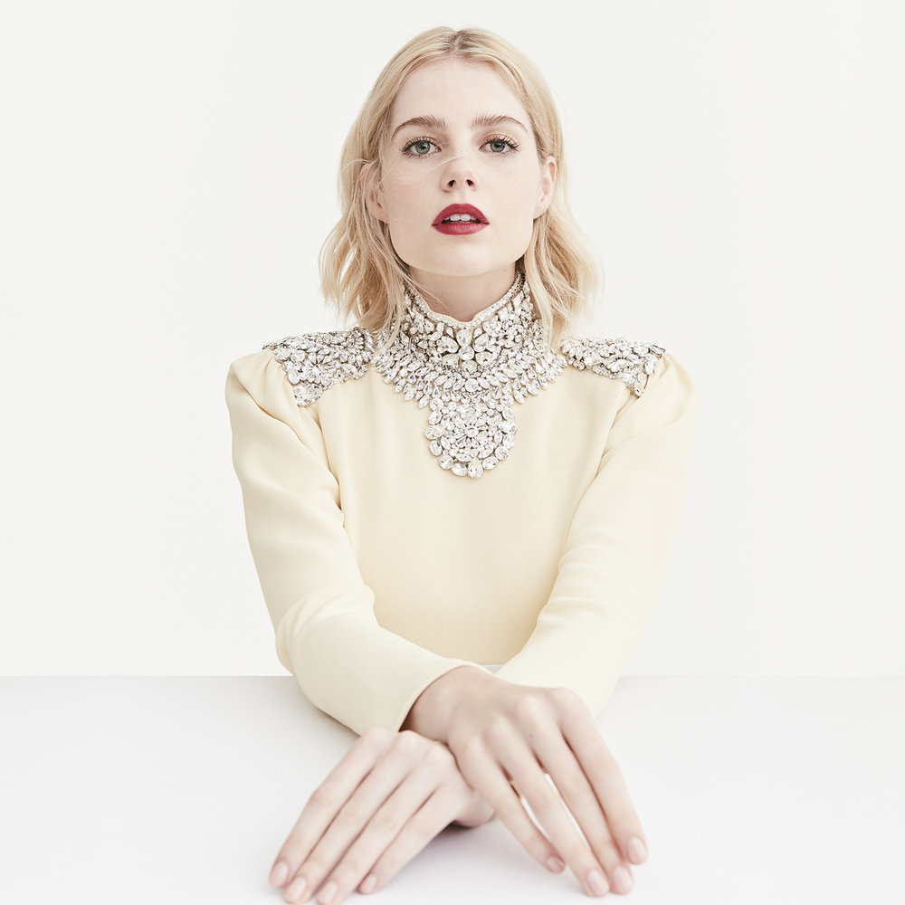 Lucy Boynton for VANITY FAIR