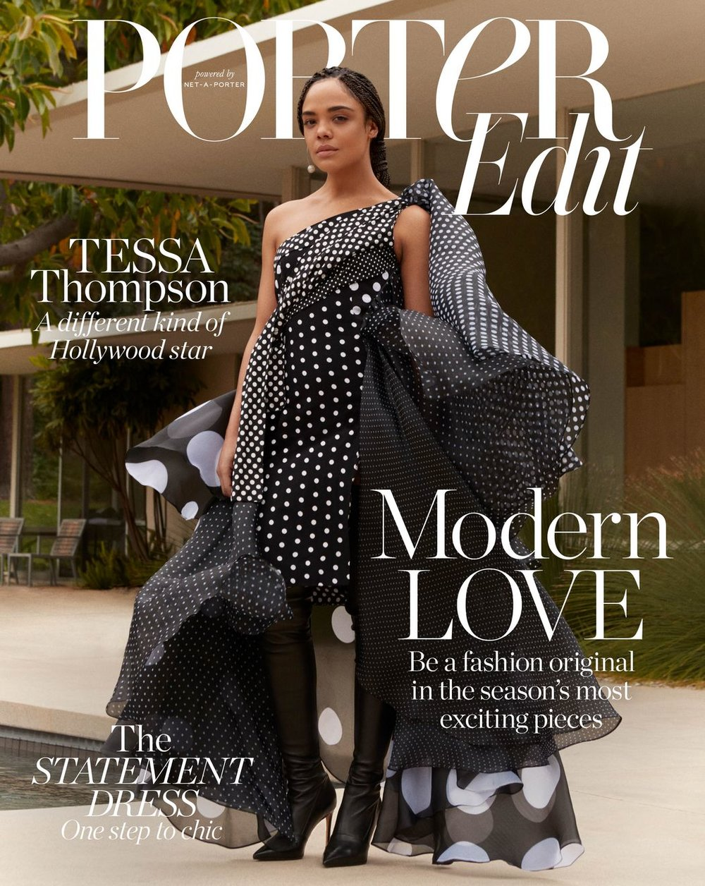Tessa Thompson for PORTER Edit