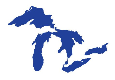 Great Lakes (as actual bodies of water, not beer)