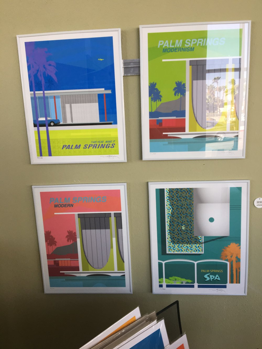 LOVE these fun prints - bought two and got simple stock frames from Michaels