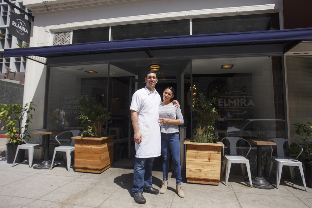 Chef Marc Passetti & GM Jen Bell