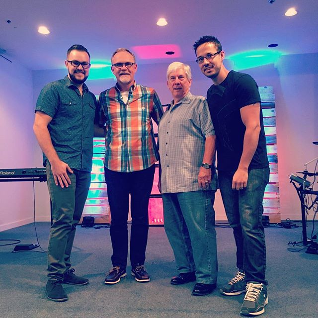 We are thankful for our church leaders! Thanks Ben, Pastor Mike, Pastor Jim, and Pastor Nick!