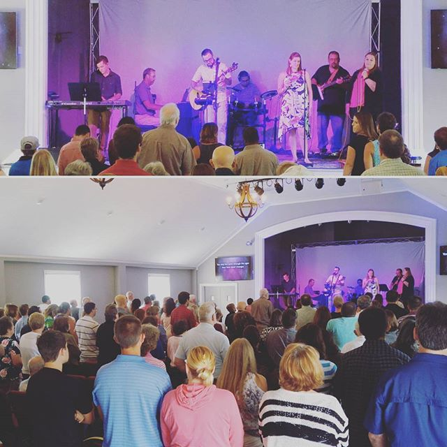 We are thrilled to have our first service at our new campus! God is good!
