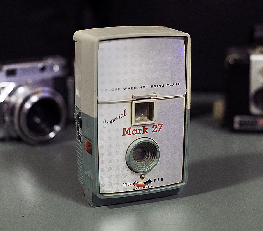 Don Conrard's first camera.