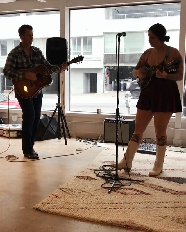 Thanks to @therefineryatx & @fosteratx for having us out to play a little music at your grand opening party! Congrats on a fabulous new space!