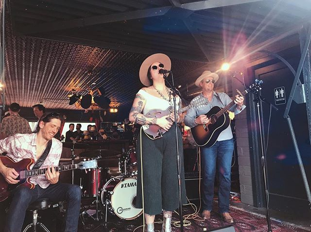 Wrapped up our SXSW week with a great outdoor show @aspenhatter yesterday! Thankful to get to watch & be apart of amazing Austin music!