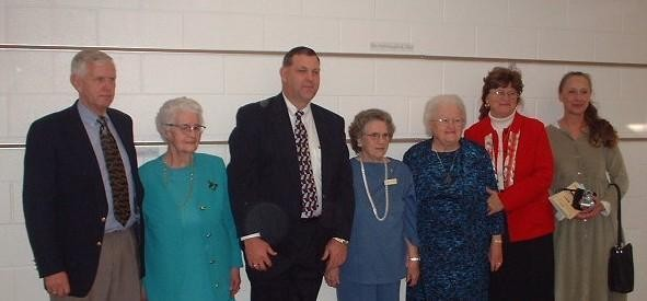 12 - 1 - 2002  charter members and children who started holy trinity at 40th ann. dinner.jpg
