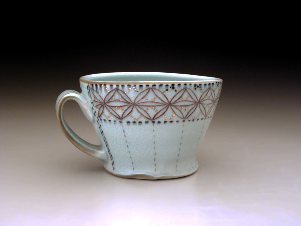 Lustre Lace Mug