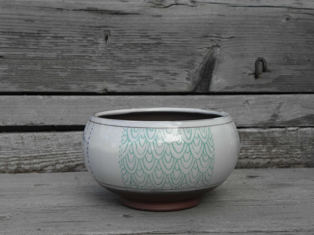 Scale Swatch Soup Bowl