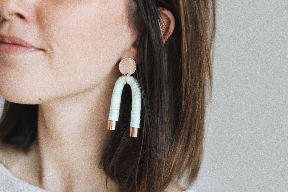 ARC Earrings - $48