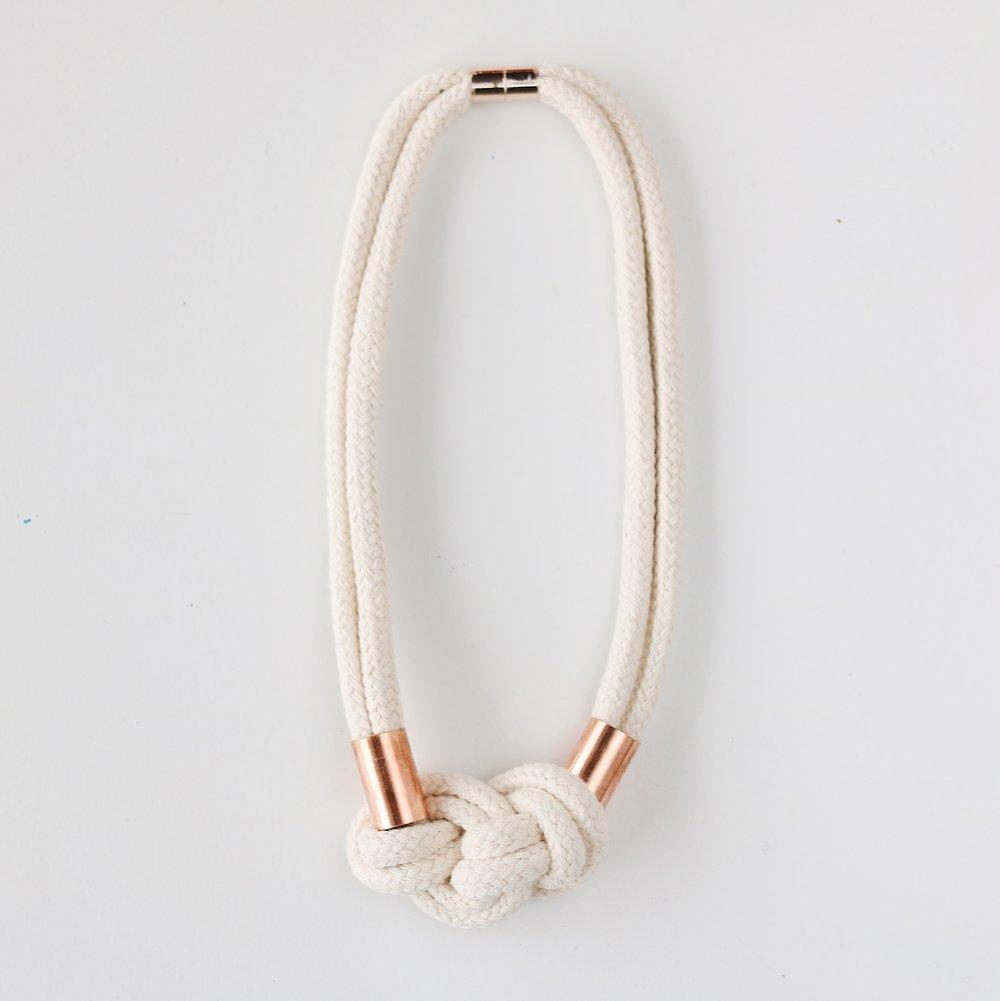 KNOTTY Necklace - $58
