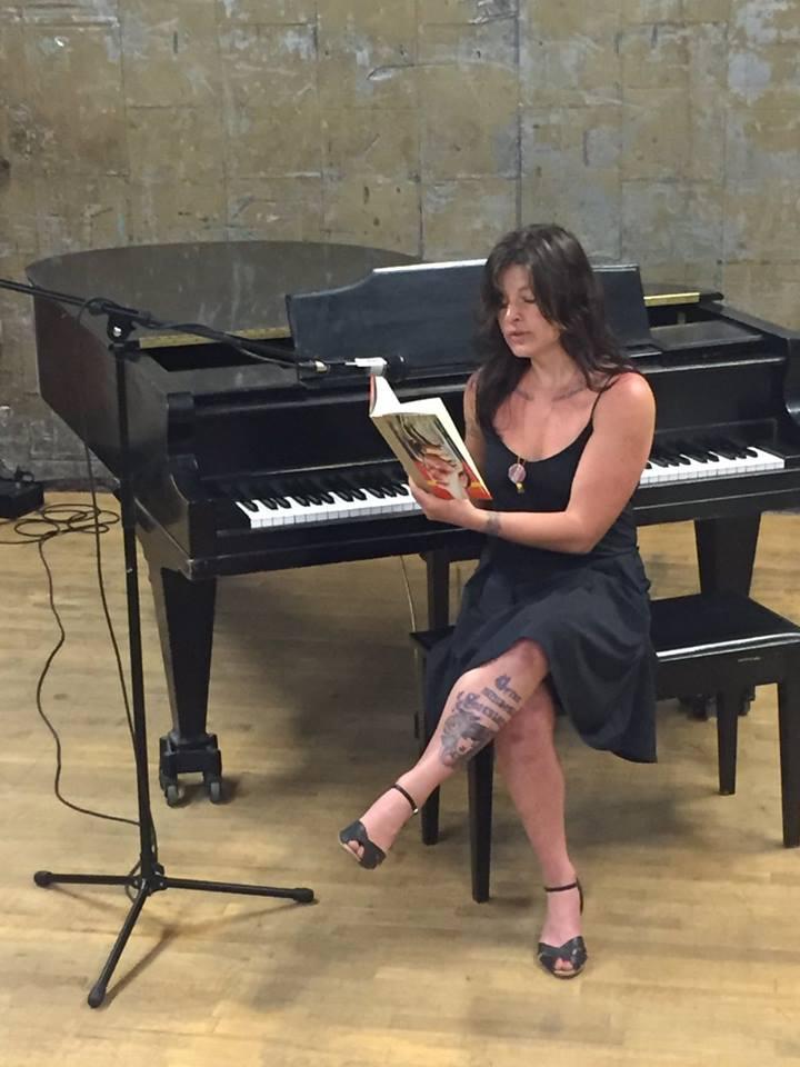 Emily Carr reads Minotaur poems at ArtShare LA