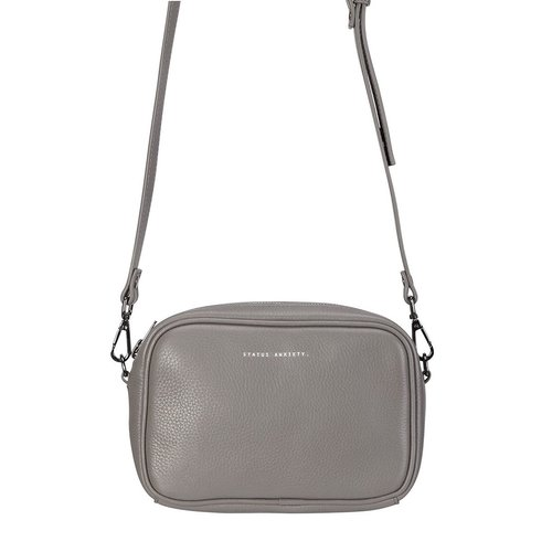 51461069f61c Status Anxiety - Plunder Bag Grey — Reunion Boutique