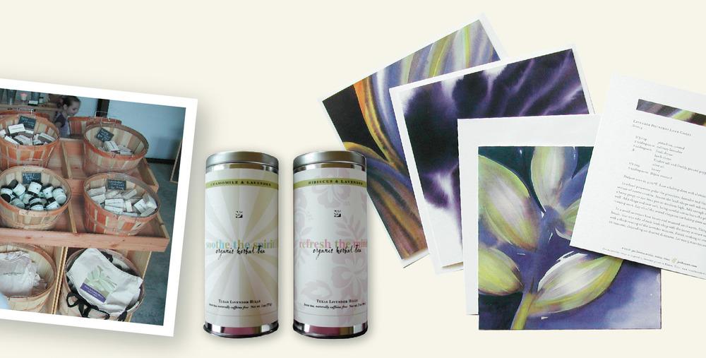 DesignCode : Brand Identity : Texas Lavender Hills : Gallery 4