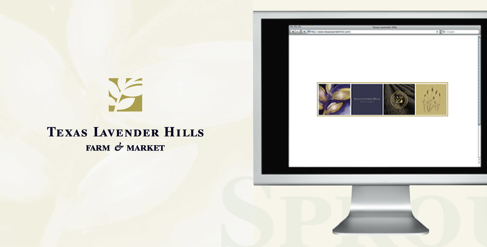 DesignCode : Brand Identity : Texas Lavender Hills : Gallery 1