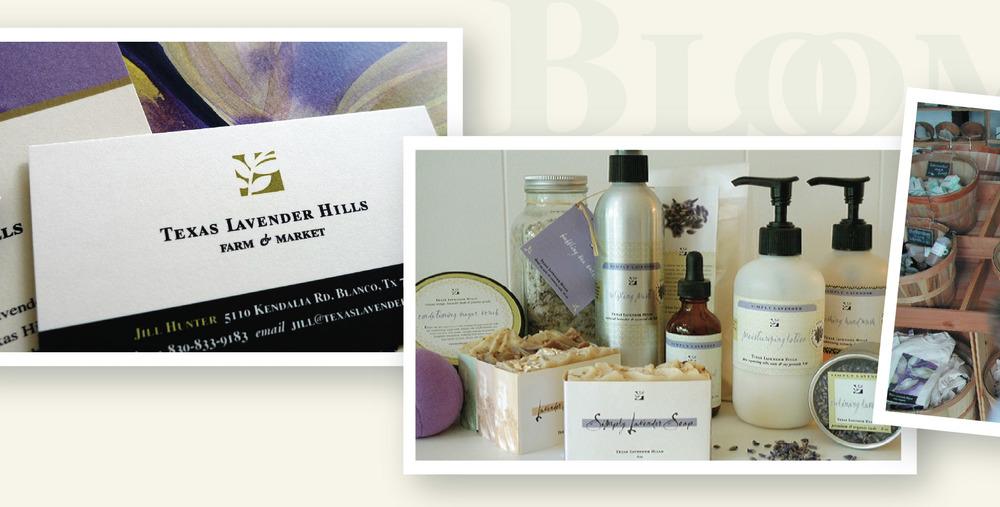 DesignCode : Brand Identity : Texas Lavender Hills : Gallery 3
